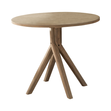 Arcadia Twisted Round Dining Table Greige