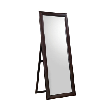 Rectangular Standing Floor Mirror Black
