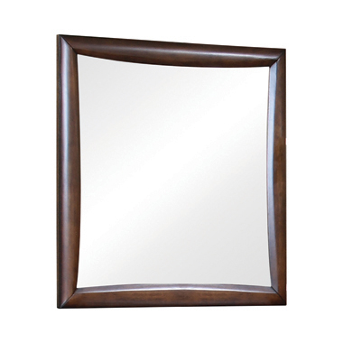 Hillary Rectangular Dresser Mirror Warm Brown