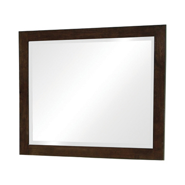 Jessica Rectangular Wall Mirror Cappuccino