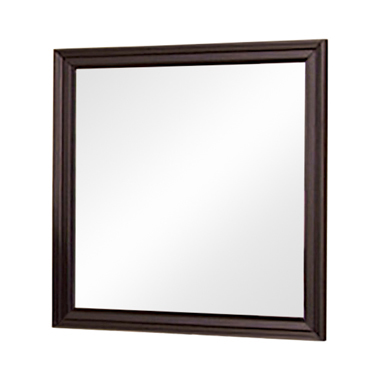 Sandy Beach Vertical Dresser Mirror Cappuccino