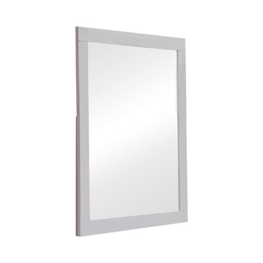 Jessica Rectangular Mirror White