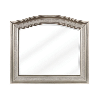 Bling Game Arched Mirror Metallic Platinum