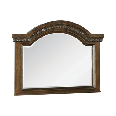 Satterfield Mirror Warm Bourbon