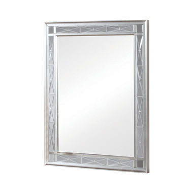 Leighton Vanity Mirror Metallic Mercury