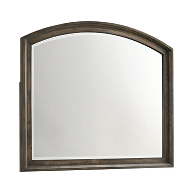 Preston Mirror Rustic Chestnut