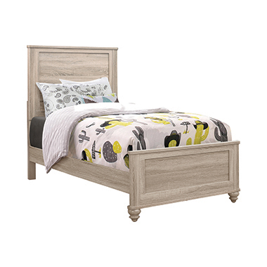 Wenham Twin Panel Bed Natural Oak