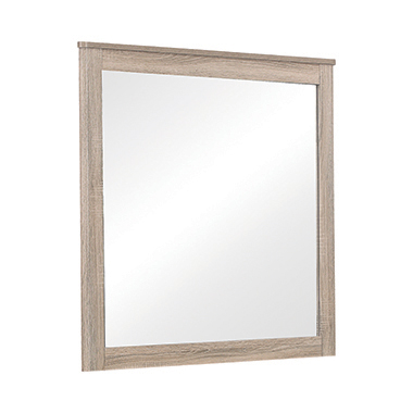 Wenham Rectangular Dresser Mirror Natural Oak