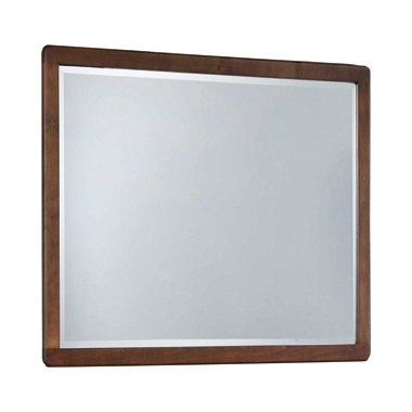 Wenham Rectangular Mirror Burnt Sugar