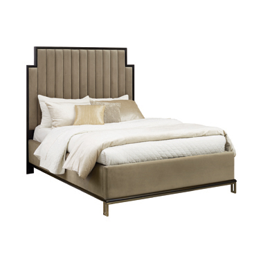 Formosa California King Upholstered Bed Camel