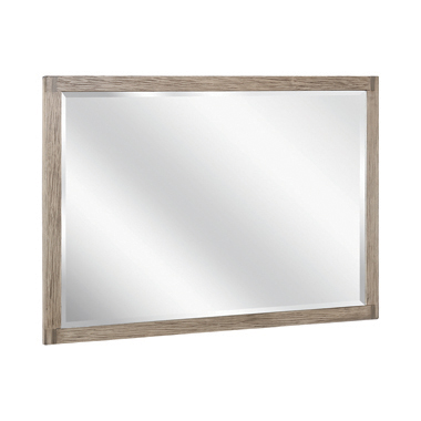 Smithson Rectangular Dresser Mirror Grey Oak