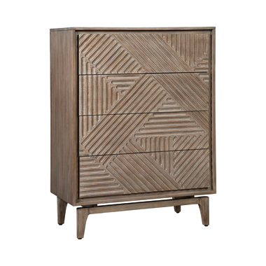 Vanowen 4-drawer Chest Sandstone