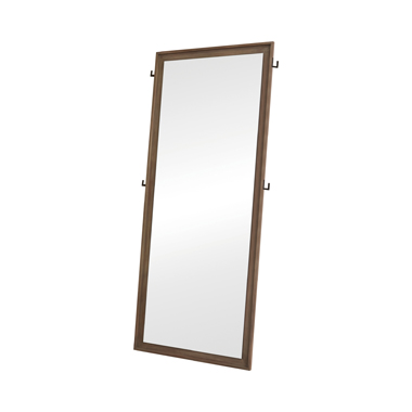 Vanowen Rectangular Floor Mirror Sandstone