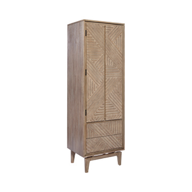 Vanowen 2-drawer Rectangular Shoe Cabinet Sandstone