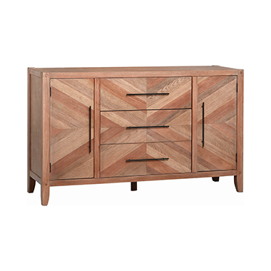Tawny 3-drawer Dresser White Washed Natural