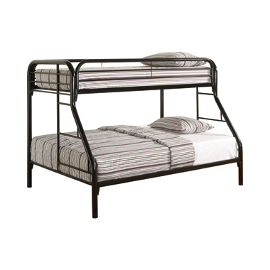 Morgan Twin over Full Bunk Bed Black