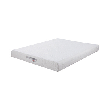 Keegan Twin Long Memory Foam Mattress White
