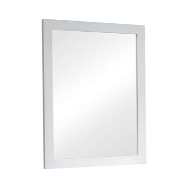 Selena Rectangular Dresser Mirror White