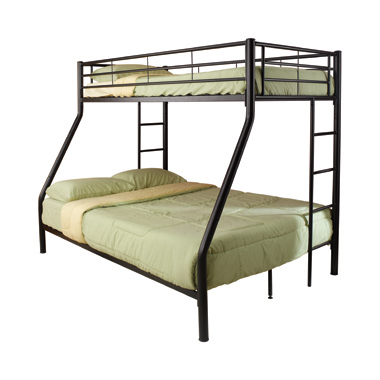 Hayward Twin over Full Bunk Bed Black