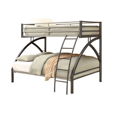 Stephan Twin over Full Bunk Bed Gunmetal