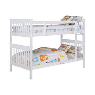Chapman Twin over Twin Bunk Bed White
