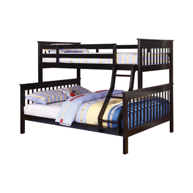Chapman Twin over Full Bunk Bed Black