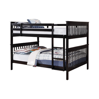 Chapman Full over Full Bunk Bed Black