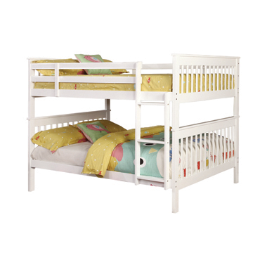 Chapman Full over Full Bunk Bed White