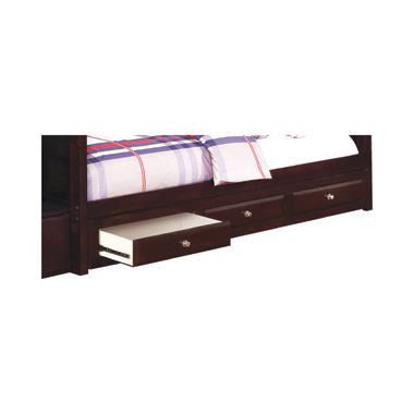Elliott 3-drawer Under Bed Storage Cappuccino