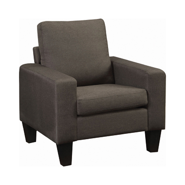 Bachman Track Arm Upholstered Chair Grey