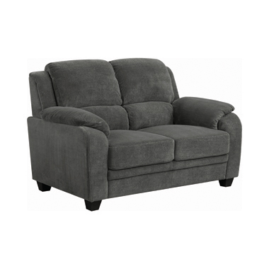 Northend Upholstered Loveseat Charcoal