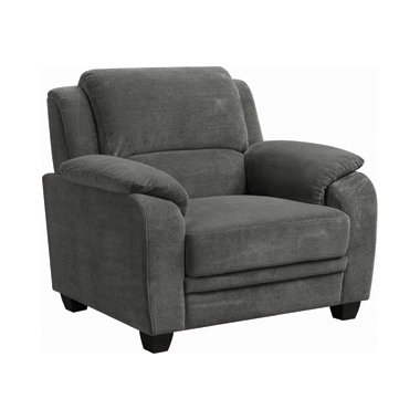 Northend Upholstered Chair Charcoal