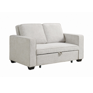 Helene Upholstered Sleeper Sofa Bed Beige