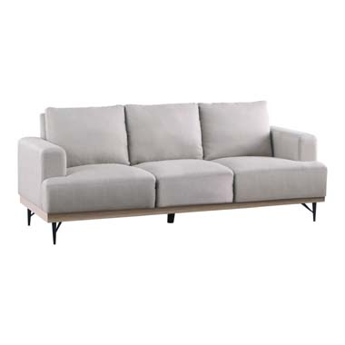 Kester Recessed Track Arm Sofa Beige
