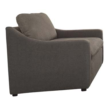Contrary Reversible Cushion Chair Charcoal
