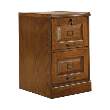 Rudd 2-drawer File Cabinet Warm Honey