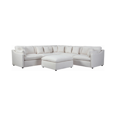 Hobson Cushion Back Corner Off-White