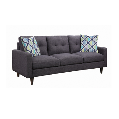 Watsonville Tufted Back Sofa Grey