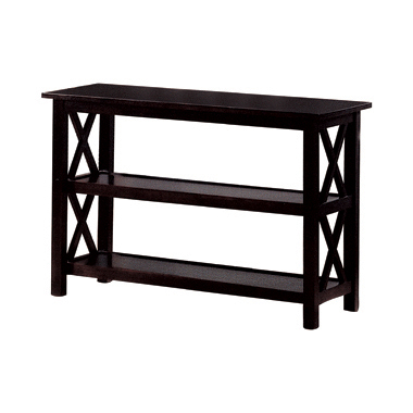 Sofa Table with 2-shelf Deep Merlot