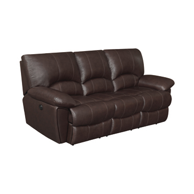 Clifford Pillow Top Arm Power Sofa Chocolate