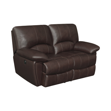 Clifford Pillow Top Arm Motion Loveseat Chocolate