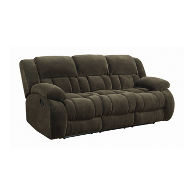 Weissman Pillow Top Arm Motion Sofa Chocolate