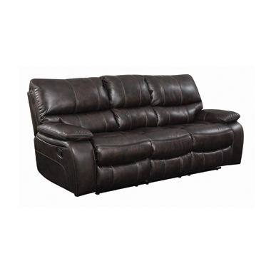 Willemse Motion Sofa with Drop-down Table Dark Brown