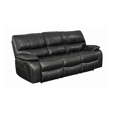 Willemse Motion Sofa with Drop-down Table Black