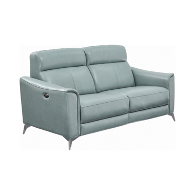 Alberta Upholstered Power Sofa Dark Seafoam
