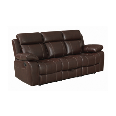 Myleene Motion Sofa with Drop-down Table Chestnut