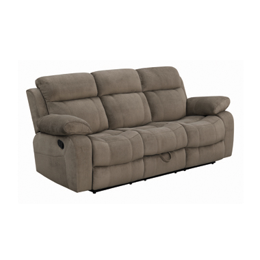 Myleene Motion Sofa with Drop-down Table Mocha