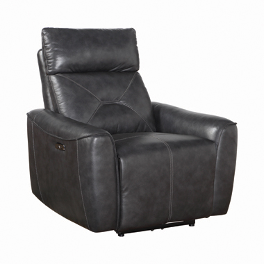 Jupiter Upholstered Power^2 Recliner Charcoal