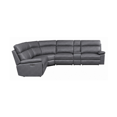 Albany 6-piece Power^2 Sectional Grey