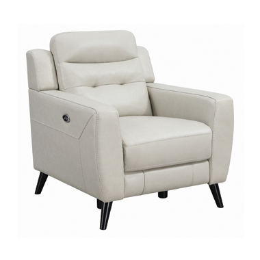 Lantana Upholstered Power Recliner Beige